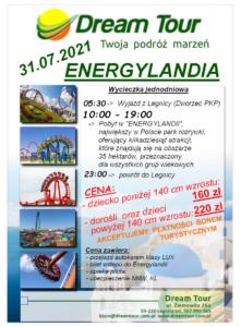 energylandia 31.07